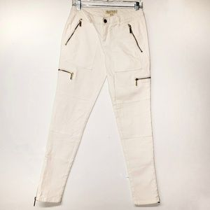 Michael Kors White Skinny Ankle Jeans Size 4